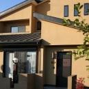 和小屋の家~大工のこだわりを活かした住まいの写真 玄関アプローチ・外観
