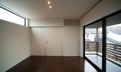 西国分の家・N邸 (ベランダと繋がる洋室)