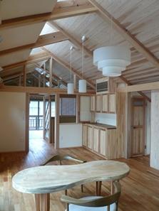 下北沢の家=東京都 瓢箪邸の部屋 瓢箪モチーフによるテーブルデザイン