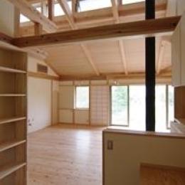 伊豆高原の家=静岡県 音楽ホールのような家 (機能がコンパクトにまとめられた書斎)