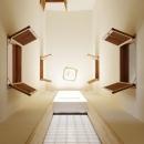 大塚裕昌の住宅事例「風の生まれる家」