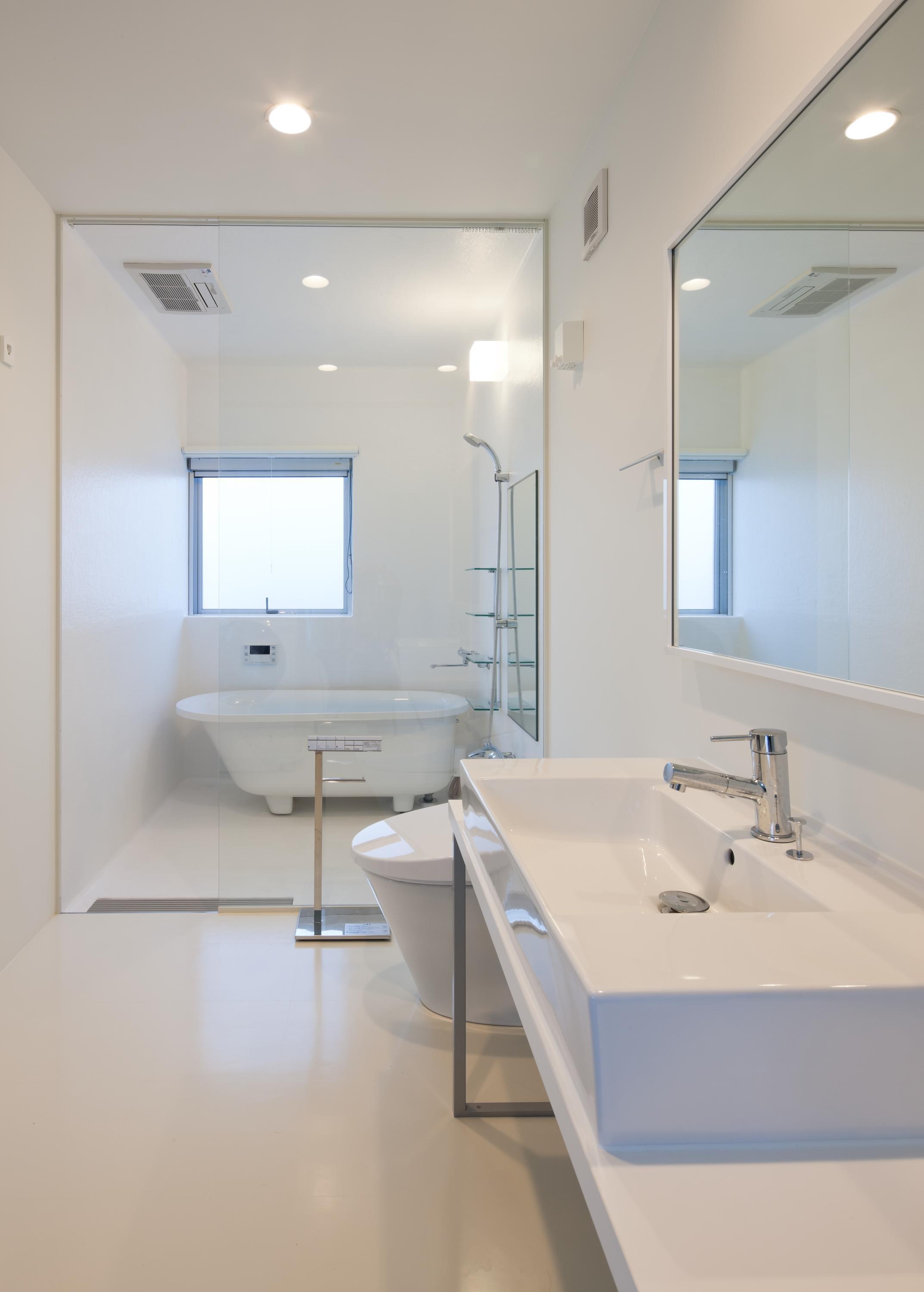 home HRの部屋 白を基調としたサニタリー
