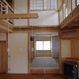 小上がりのある和室