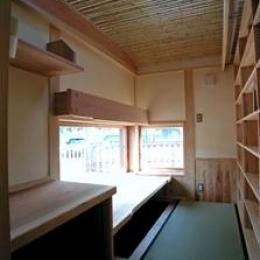 見沼の家=埼玉県 野草、野鳥と木工芸の家 (アトリエ)