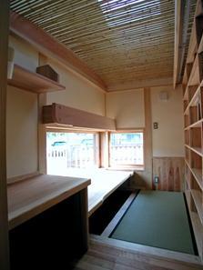 見沼の家=埼玉県 野草、野鳥と木工芸の家の部屋 アトリエ
