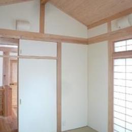 田園調布の家=東京都 光と風と子供たちを招く家 (2階の和室)