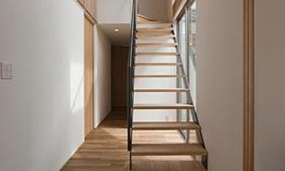 K邸 H19 (オープン型階段)