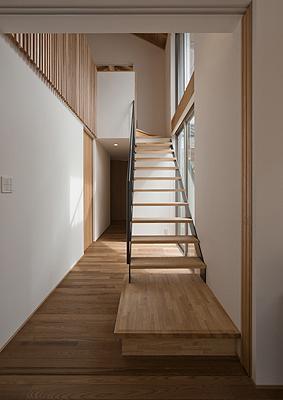 その他事例:オープン型階段(K邸 H19)