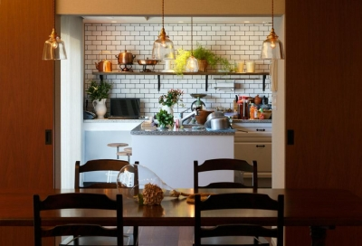 好きが詰まったキッチン (dining kitchen)