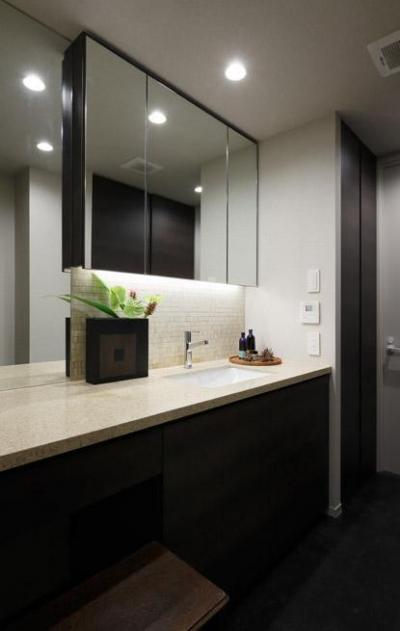 wash room (好きが詰まったキッチン)