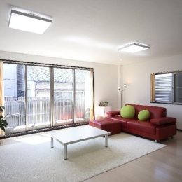 大阪城を望む都市型住宅