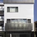 大阪城を望む都市型住宅の写真 ファサード