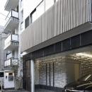大阪城を望む都市型住宅の写真 外観