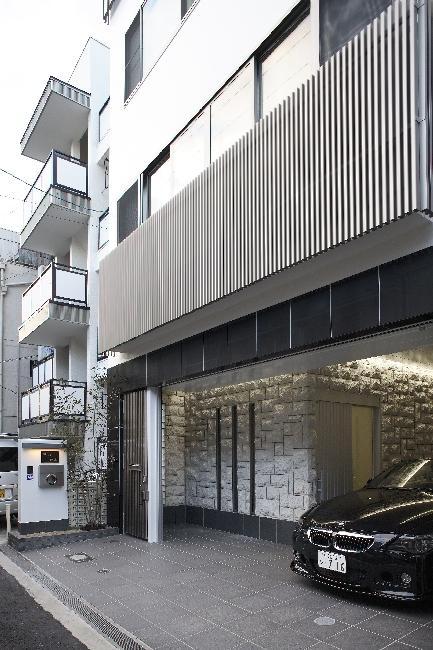 大阪城を望む都市型住宅の部屋 外観