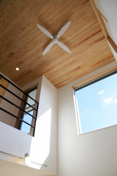hidamari (シーリングファンのある天井を見上げる)