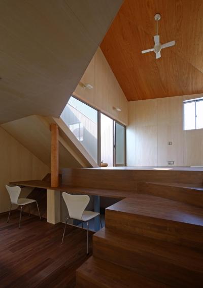 赤塚の住宅 (ダイニング・勉強コーナー)