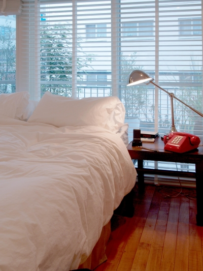 ベッドルーム (ALICE —広々とした部屋にそびえる一枚のドア!?)