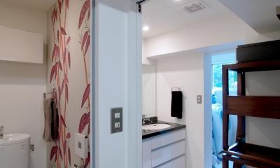 ALICE —広々とした部屋にそびえる一枚のドア!? (サニタリー)