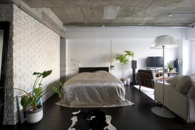 """ベッドスペース (S.L. —""""空間に置きたいもの""""を起点につくる部屋)"""