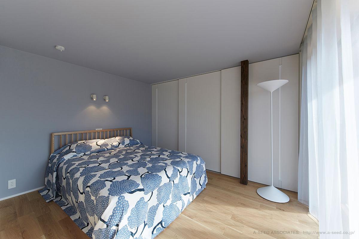 saisou houseの写真 落ち着く寝室