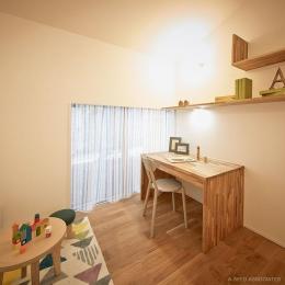 saisou house (シンプルな子供部屋)