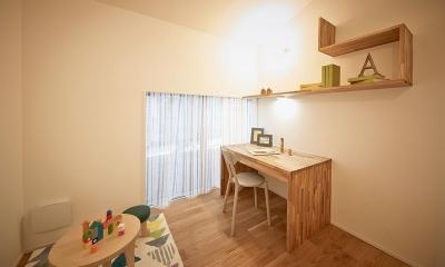 シンプルな子供部屋|saisou house