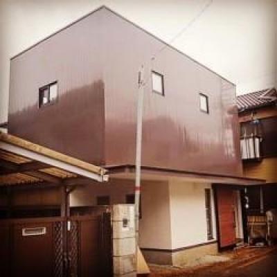 こだわりの注文住宅 RC×木造の混構造 (外観)