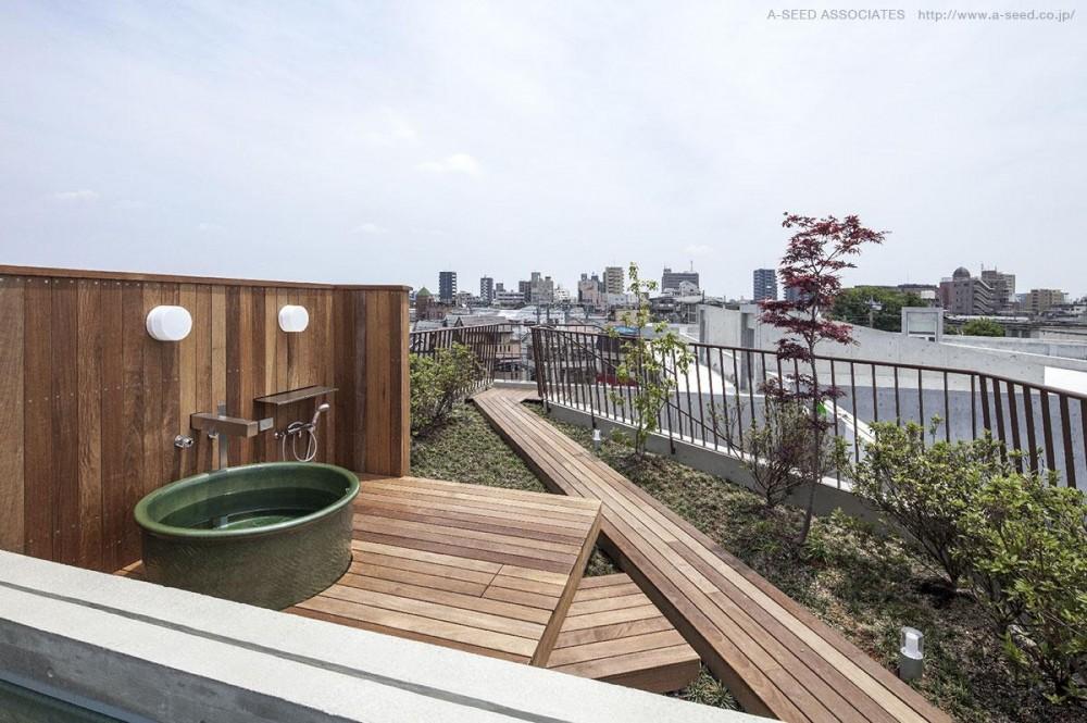 並木秀浩「庭と共に時を刻む家「Garden on garden」」