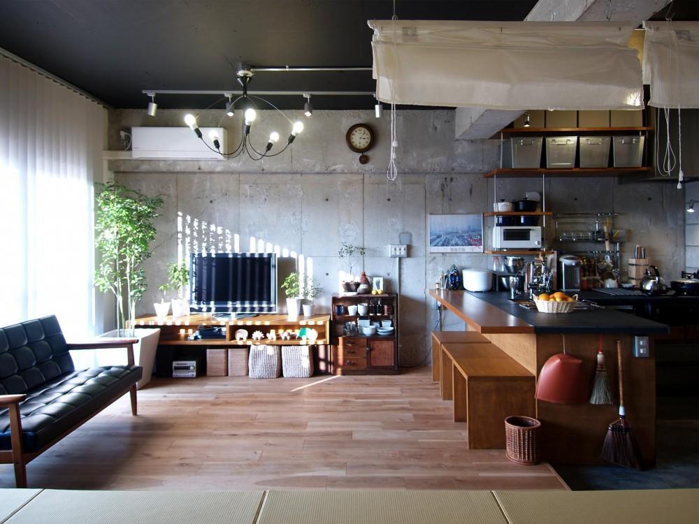 リノベーション・リフォーム会社:ブルースタジオ「RIKUBUNー畳を生活の中心にしたリノベーション」