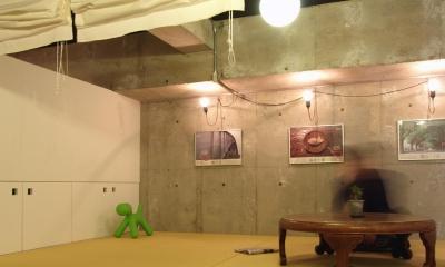 RIKUBUNー畳を生活の中心にしたリノベーション (畳スペース)