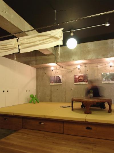 畳スペース (RIKUBUNー畳を生活の中心にしたリノベーション)