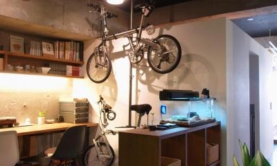 RIKUBUNー畳を生活の中心にしたリノベーション (ワークスペース)
