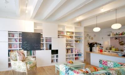 Glisse—個性的な家具に合わせた自分らしい空間