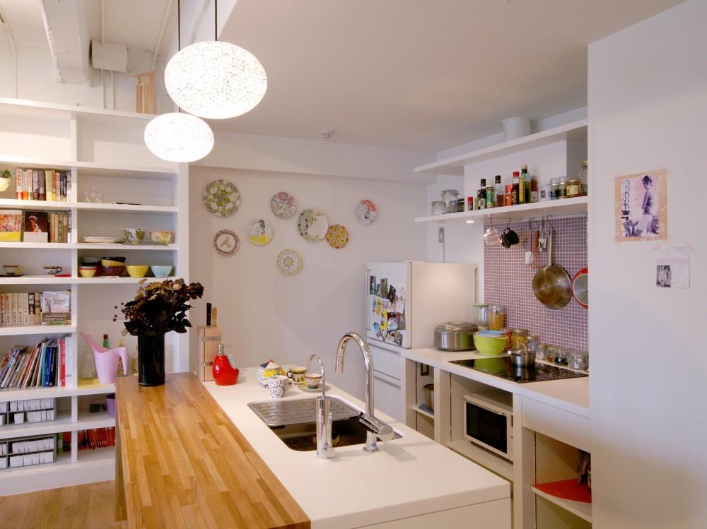 リノベーション・リフォーム会社:ブルースタジオ「Glisse—個性的な家具に合わせた自分らしい空間」