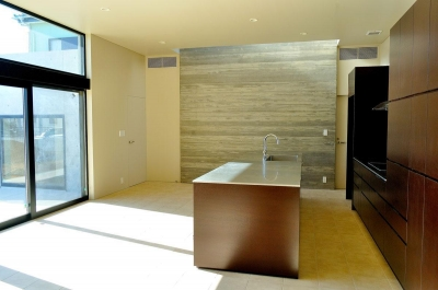 リビング・ダイニング・キッチン (Y-HOUSE|豊かなリビング空間とテラスのあるRC平屋建て|)