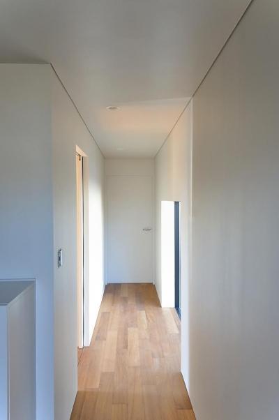 Y-HOUSE|豊かなリビング空間とテラスのあるRC平屋建て| (玄関・廊下)