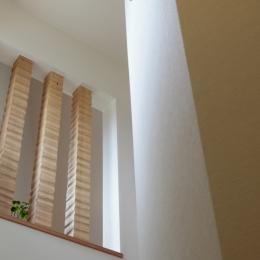 森に浮かぶ家 (階段1)
