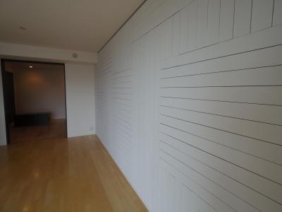 リビング木板貼り+塗装 インテリアリフォーム (リビング木板貼り+塗装)