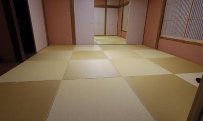和室続き間まるごと内装フルリフォーム (和室)