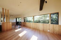 森に浮かぶ家 (LDK2)