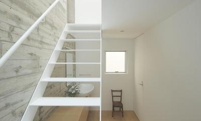 サンドイッチハウス (階段)