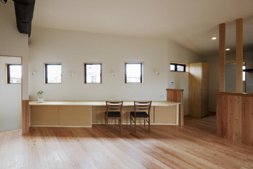 森に浮かぶ家の部屋 LDK3