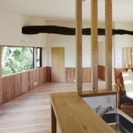森に浮かぶ家 (LDK5)