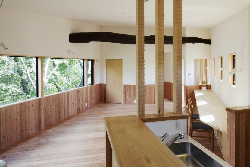 森に浮かぶ家の部屋 LDK5