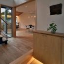 MJ2-houseの写真 吹き抜けのある玄関ホール
