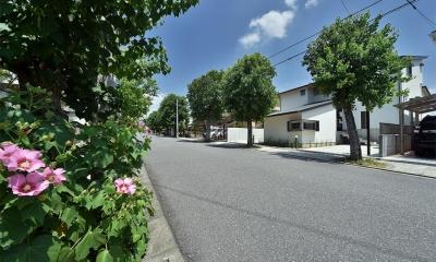 MJ2-house (道路側から見る外観)