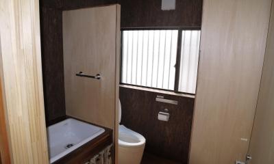 京都福知山の家リノベーション (トイレ)