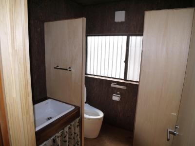 トイレ (京都福知山の家リノベーション)