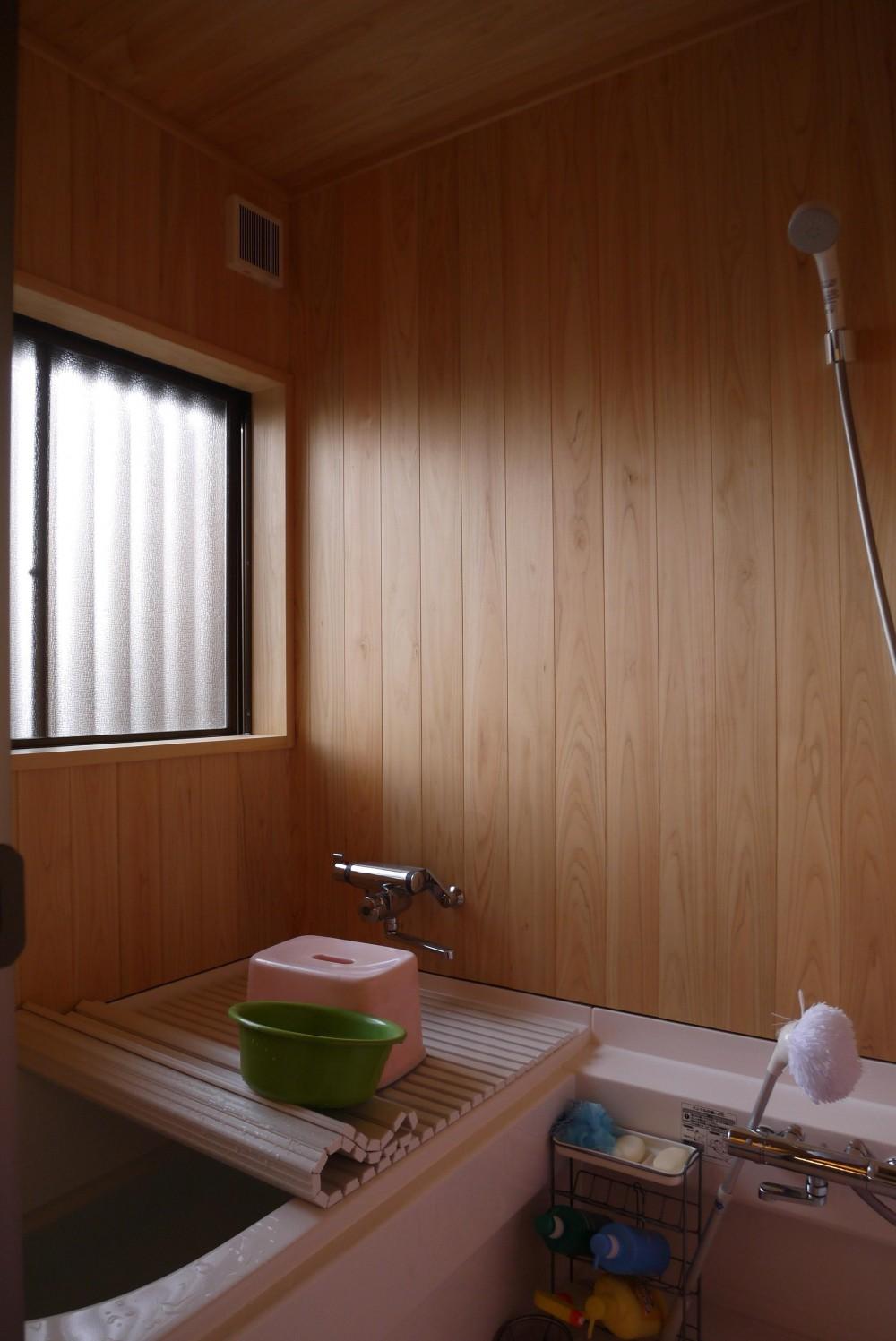 京都福知山の家リノベーション (浴室)
