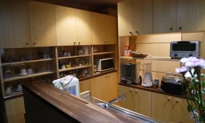 京都福知山の家リノベーション (キッチン)